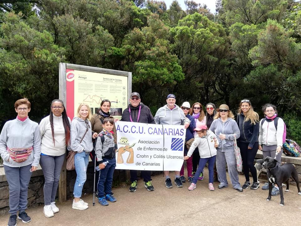 Convivencia Sendero de los Sentidos en La Cruz del Carmen Tenerife 2019