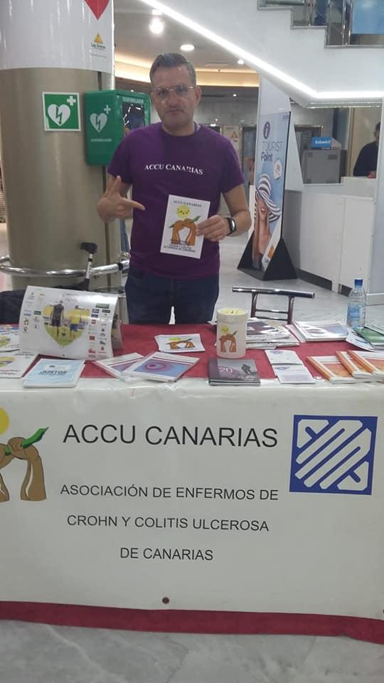 Mesas Informativas de ACCU Canarias