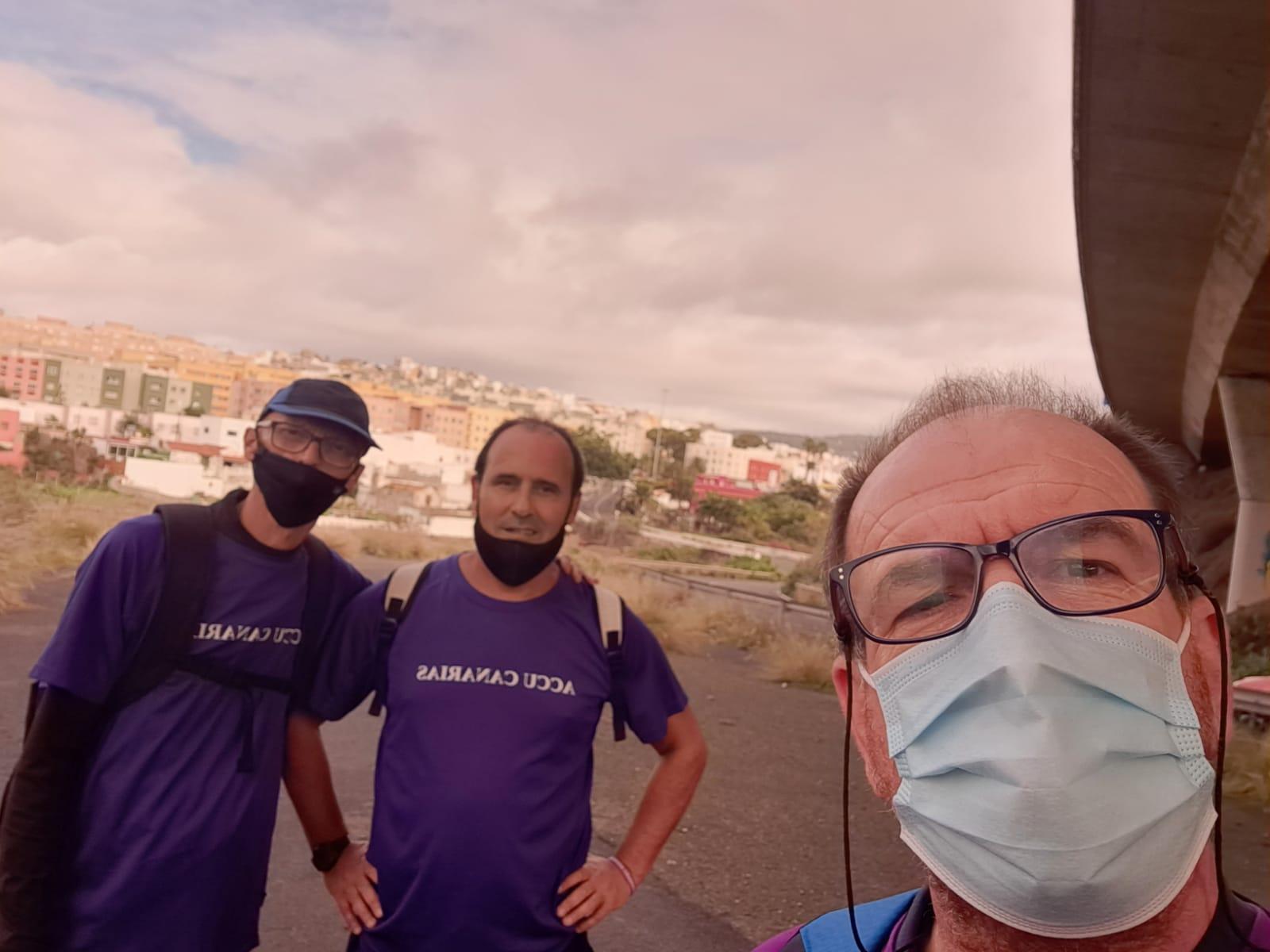 Caminata Solidaria ACCU Canarias